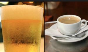 alcool e cafe 300x179 - Como desbloquear as trompas de Falópio Naturalmente